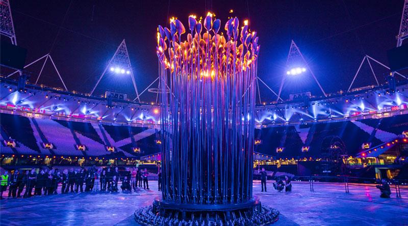 olympic cauldron opening ceremony london 2012 7 10 Incredible Photos of the Olympic Cauldron