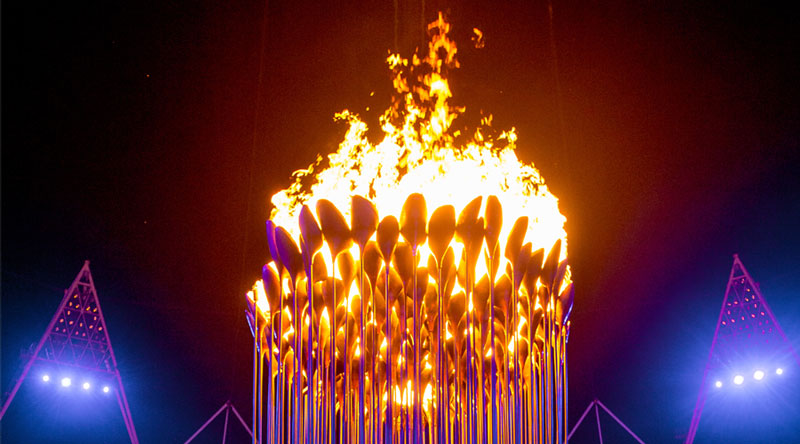 olympic cauldron opening ceremony london 2012 8 10 Incredible Photos of the Olympic Cauldron