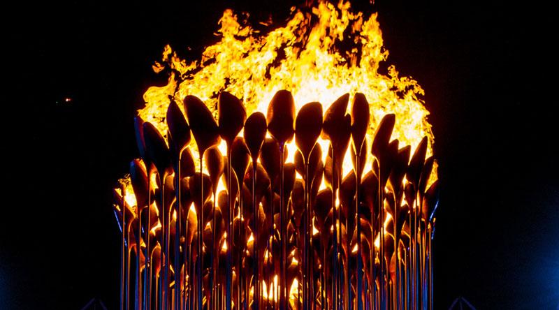 olympic cauldron opening ceremony london 2012 9 10 Incredible Photos of the Olympic Cauldron