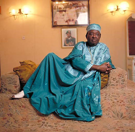 portrait of ONI of IFE (Nigeria) by daniel lane solo portrait