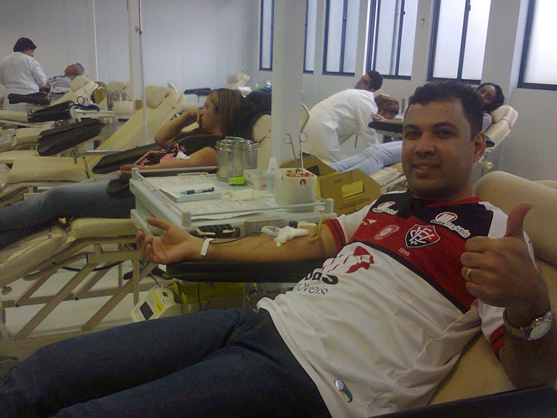 Football Club Removes Red From Jersey For Blood Donation
