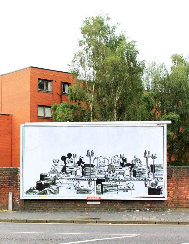poly brandalism street art 3 Brandalism Project Subverts Billboards Across the UK [25 pics]