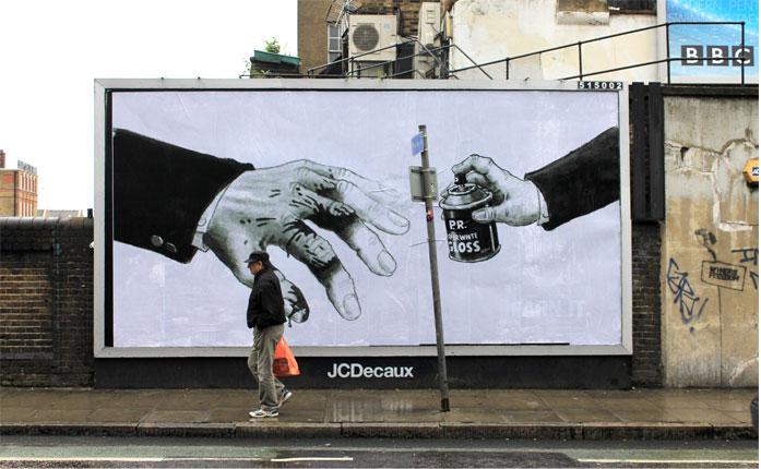polyp brandalism street art 1 Brandalism Project Subverts Billboards Across the UK [25 pics]