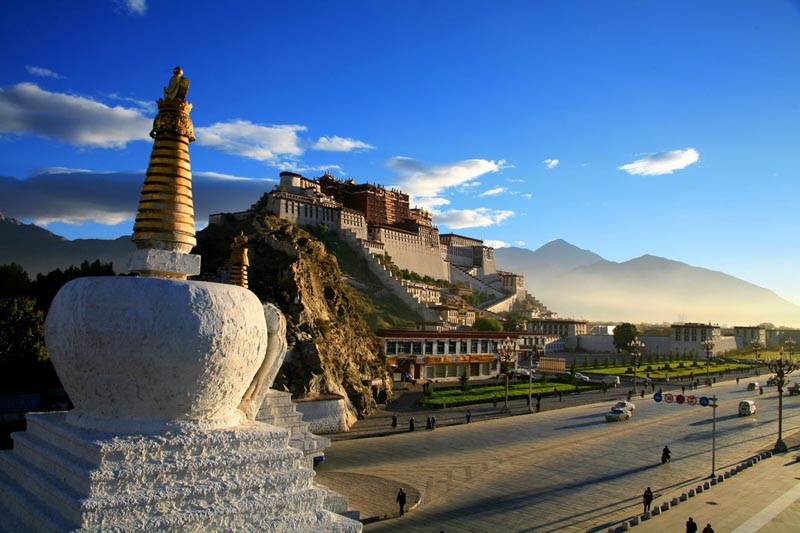 The Potala Palace In Tibet  U00abtwistedsifter