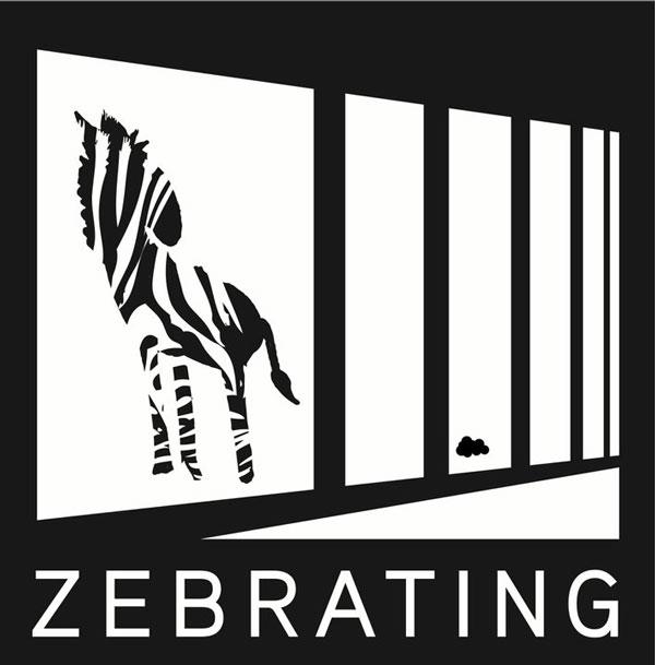 street art on railings by zebrating art 4 Amazing Street Art on Railings by Zebrating