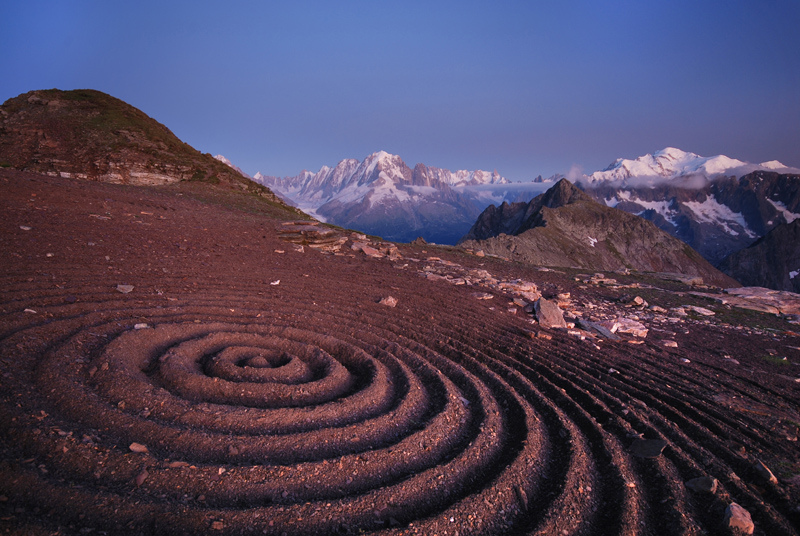 Beautiful Land Art by Sylvain Meyer