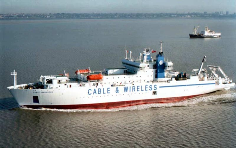 the cs cable innovator the largest cable laying ship in the world 1 The Undersea Cables that Connect the World