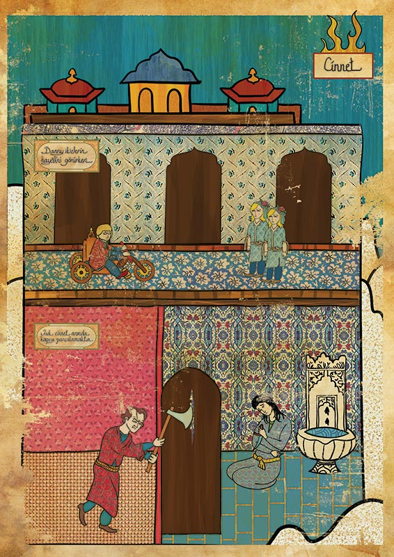 the shining movie as ottoman motif 11 Classic Movie Scenes as Ottoman Motifs