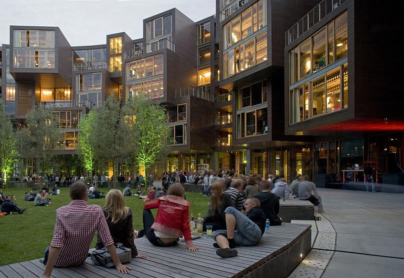 tietgen dormitory by lundgaard tranberg arkitekter 2 The Worlds Coolest University Dorm
