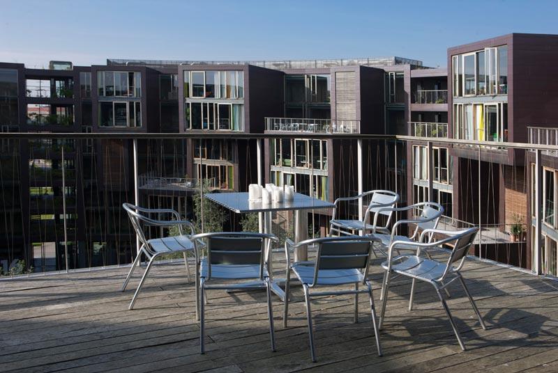 tietkenkollegiet circular residence student dorm copenhagen denmark 1 The Worlds Coolest University Dorm