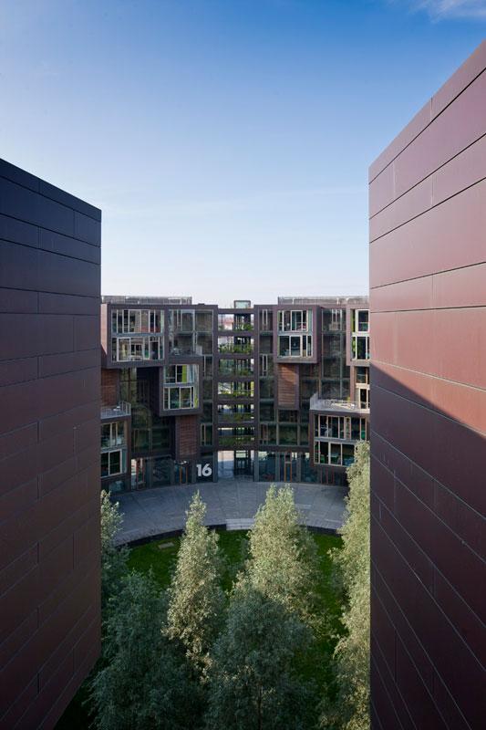 tietkenkollegiet circular residence student dorm copenhagen denmark 6 The Worlds Coolest University Dorm