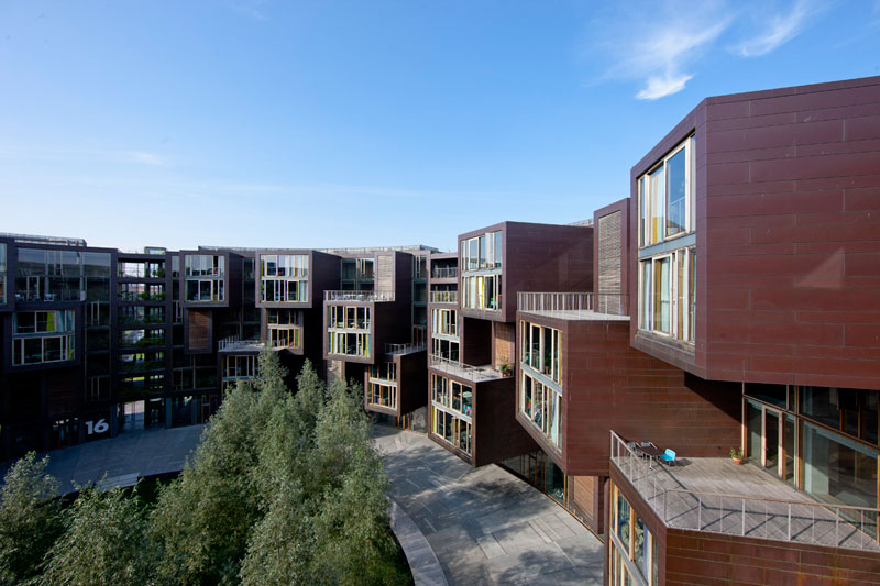 tietkenkollegiet circular residence student dorm copenhagen denmark 8 The Worlds Coolest University Dorm