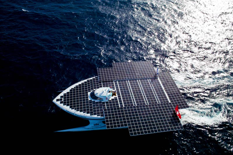turanor planetsolar boat first solar powered boat to circumnavigate the world 5 The Solar Powered Boat that Circumnavigated the World
