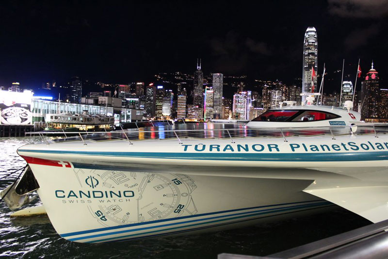 turanor planetsolar boat first solar powered boat to circumnavigate the world 6 The Solar Powered Boat that Circumnavigated the World