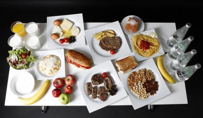 The Daily Food Intakes Of Olympic Athletes 8 Pics TwistedSifter