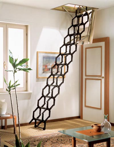 attic staircase foldable