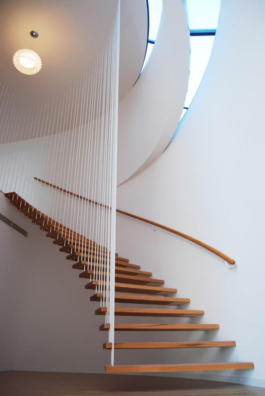 suspended staircase