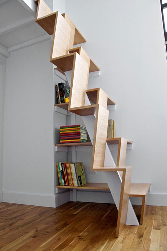 split level staircase