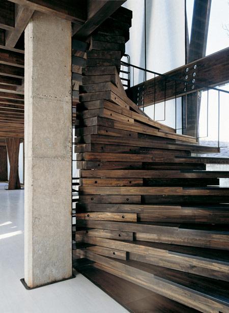 Nice Half Spiral Staircase