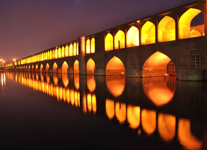 allah verdi khan bridge of 33 arches The 2011 Wikimedia Commons Pictures of the Year