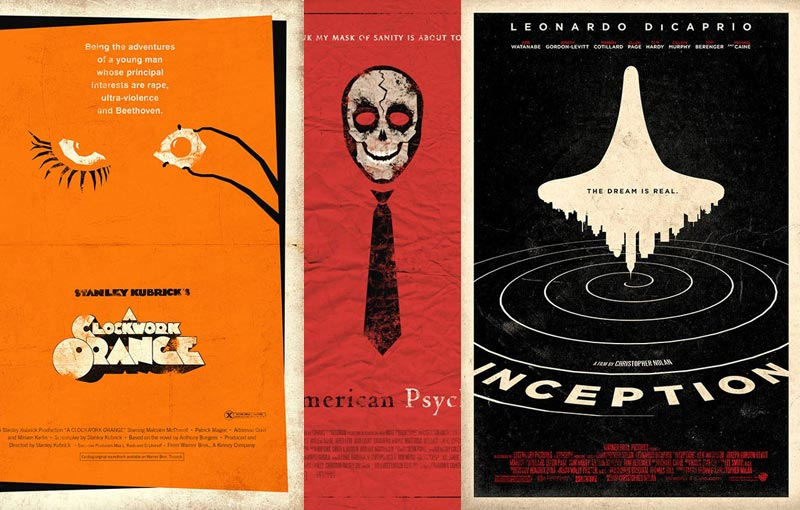 Creative Alternate Movie Posters by Adam Rabalais