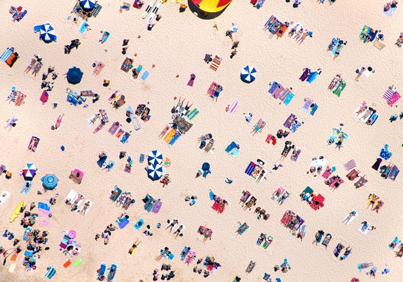 bondi beach horizontal aerial maison gray Beaches Around the World Seen from Above