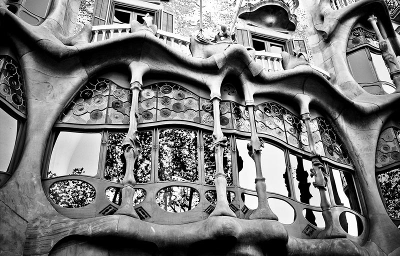 The Iconic Casa Batllo by Antoni Gaudi