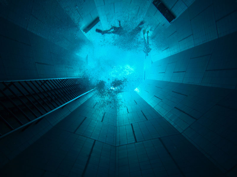 deepest indoor swimming pool in the world 3 The Deepest Indoor Swimming Pool in the World