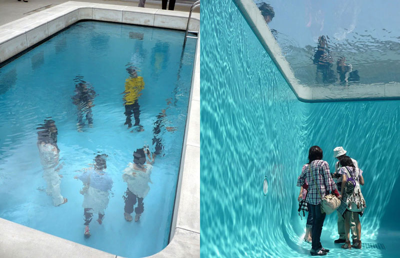 The Swimming Pool Illusion by Leandro Erlich «TwistedSifter