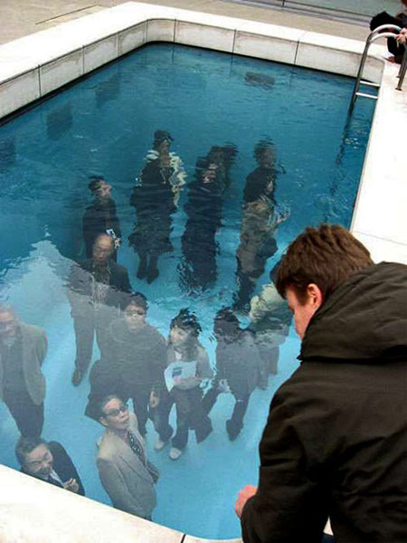 Fake Swimming Pool Illusion Leandro Erlich 1 The By