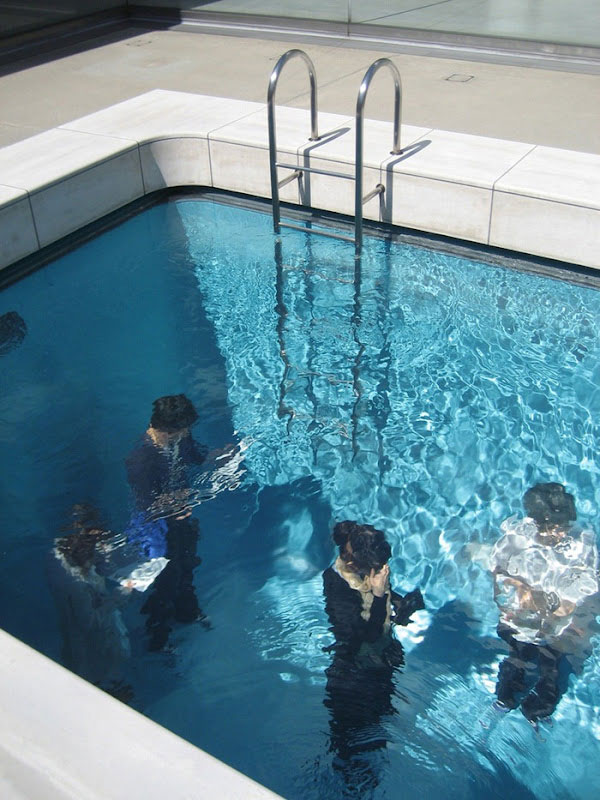 Swimming Pool Illusion by Leandro Erlich