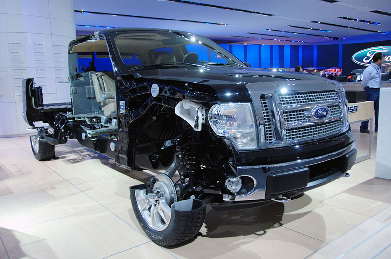 ford f150 truck cutaway car cut in half 15 Amazing Car Cutaways