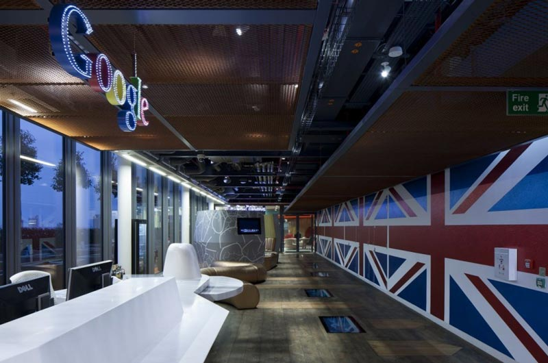 google london hq office at cgs by penson 3 Googles Funky Headquarters in London