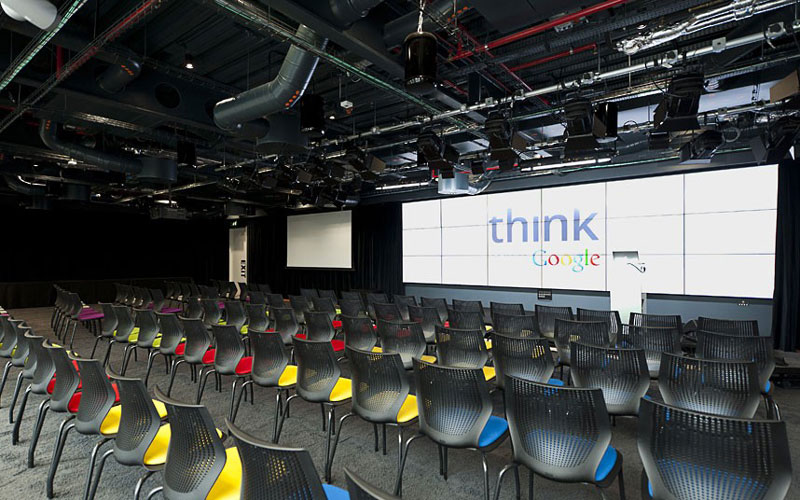 google office video. google london hq office by penson 16 googles funky headquarters in video e