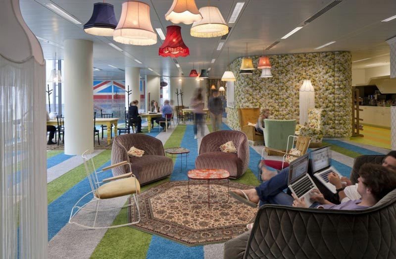 google london hq office by penson 4 Googles Eclectic Tel Aviv Office Space [30 pics]
