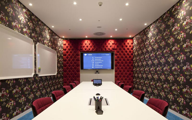 L Google London Hq Office By Penson 9 Googles Funky Headquarters In London