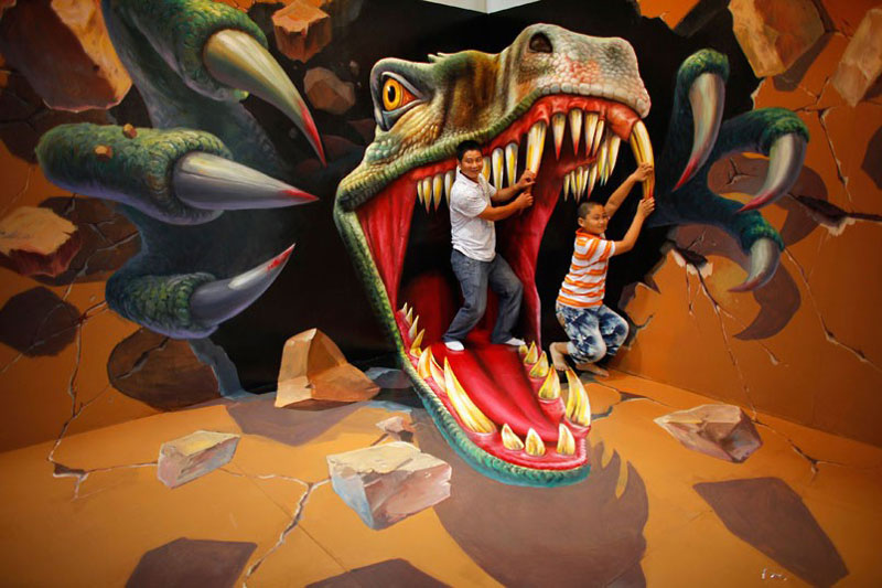 The 3D Art Exhibit that Lets You Interact with theArtwork