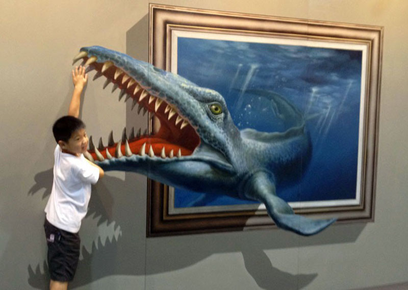The 3d Art Exhibit That Lets You Interact With The Artwork