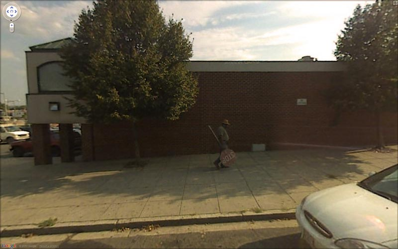 interesting google street view images 6 25 Pictures of Life Captured by Google Street View