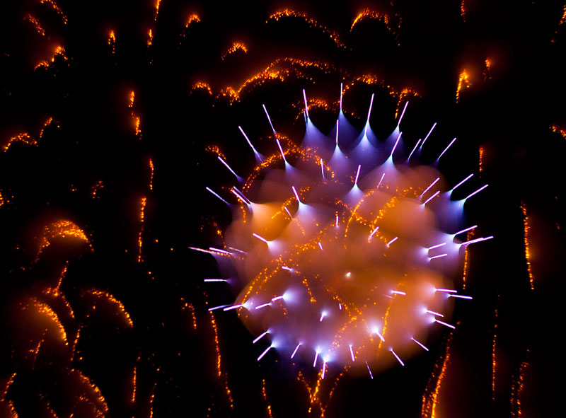 long exposure fireworks like youve never seen before david johnson 10 This is What Happens When You Put LEDs on a Roomba