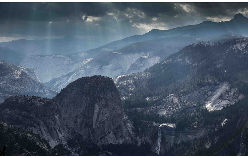 Picture of the Day: Morning View from Washburn Point, Yosemite