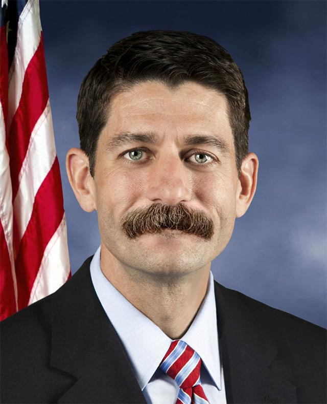 paul ryan funny photoshop epic beard swanson Photoshop Fun with Paul Ryan [15 pics]