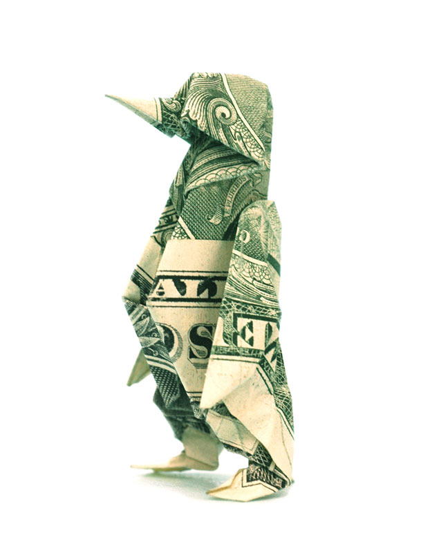 Amazing Origami Using Only Dollar Bills Twistedsifter