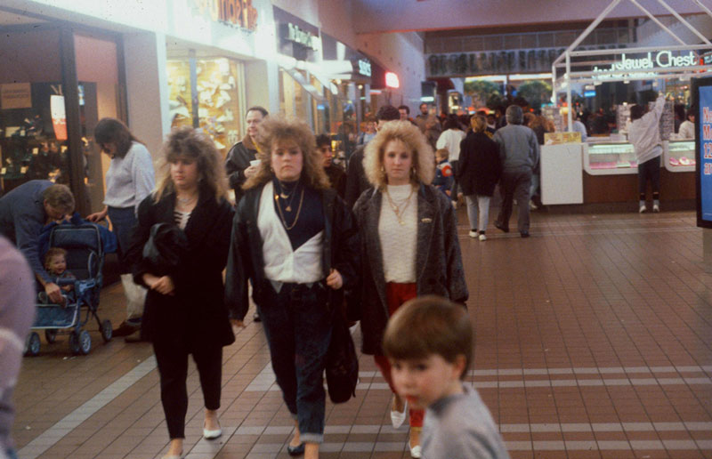Pictures from the 80s of Malls Across America