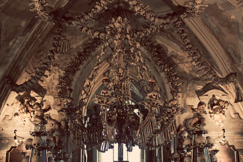Sedlec Ossuary: The Bone Church of 40,000 Souls