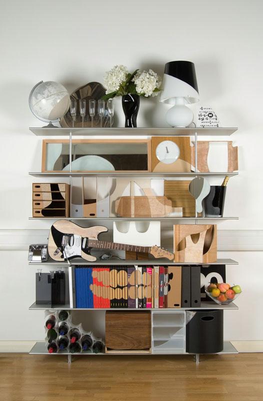 shelves that look like skulls james hopkins 3 Neatly Arranged Shelves That Look Like Skulls