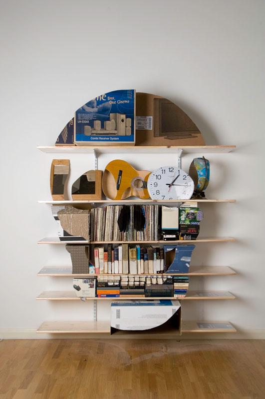 shelves that look like skulls james hopkins 4 Neatly Arranged Shelves That Look Like Skulls