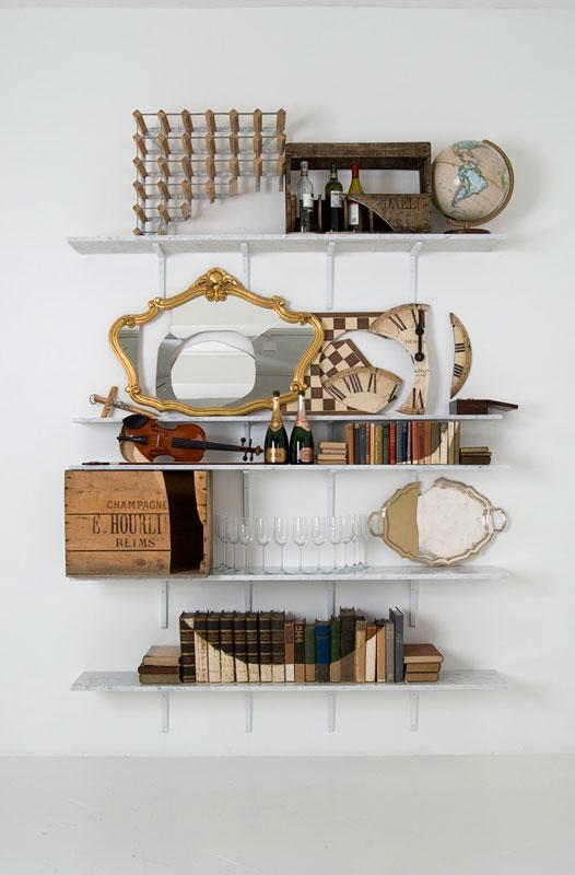 shelves that look like skulls james hopkins 6 Neatly Arranged Shelves That Look Like Skulls