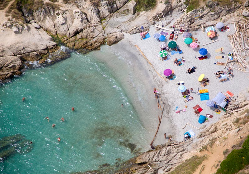 st tropez secret beach aerial maison gray Beaches Around the World Seen from Above