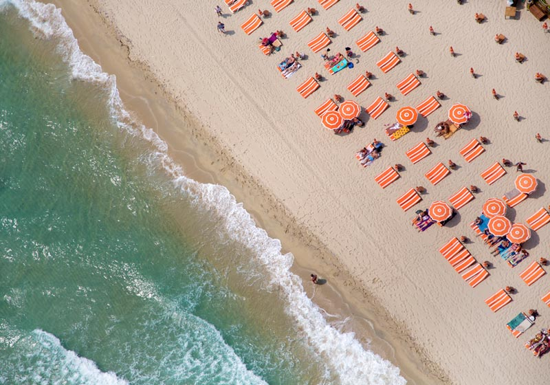 st tropez tahiti club aerial maison gray Beaches Around the World Seen from Above
